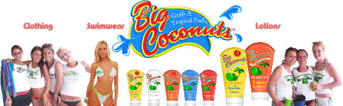 Welcome to Big Coconuts, home of the Tropical Attitude