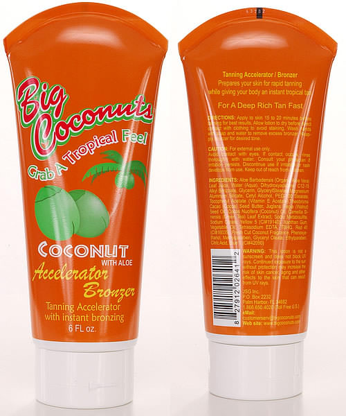 Tanning Accelerator and Bronzer in one lotion for a fast and safe instant tan.