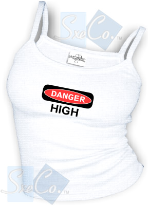 DANGER - HIGH sexy Spaghetti strap tank tops