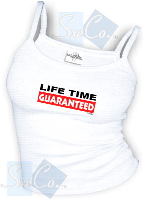 LIFE TIME GUARANTEED - spaghetti straps tops