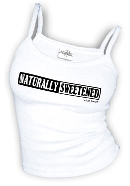 Naturally Sweetened - Spaghetti strap tank top