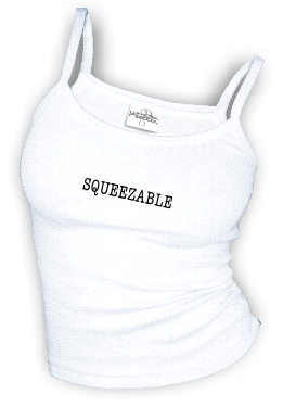 SQUEEZABLE - Spaghetti Strap tank top
