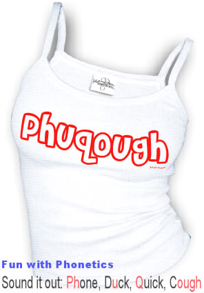Phuqough (Sound it out) - Spaghetti Strap tank top