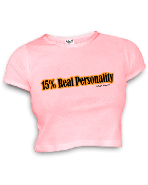 15% Real Personality