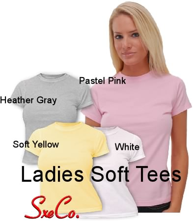 Ladies Soft Tees