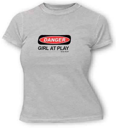 DANGER - Girl At Play