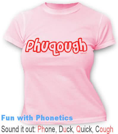 Phuqough - Phun wyth Phonetics tees