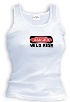 DANGER WILD RIDE tank top