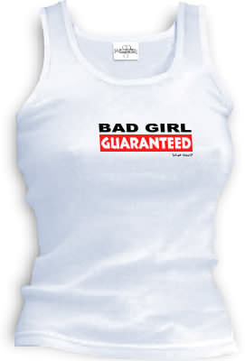 BAD GIRL GUARANTEED - spaghetti straps tops