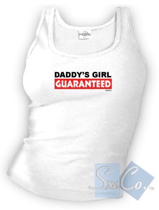 DADDYS GIRL GUARANTEED - spaghetti straps tops