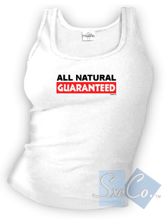 ALL NATURAL GUARANTEED - spaghetti straps tops