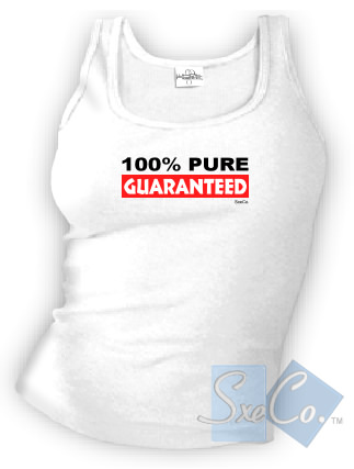 100% PURE GUARANTEED - spaghetti straps tops