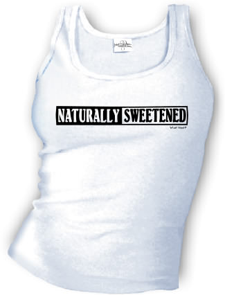 Naturally Sweetened - Tank top