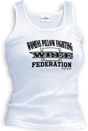 WPFF Women's Pillow Fighting Federation - Tank top