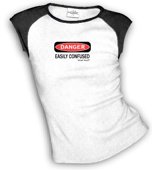 DANGER - EASILY CONFUSED