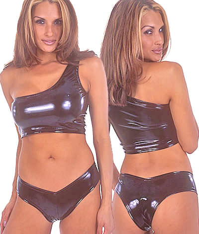 Hot Pants in Super Stretch Vinyl